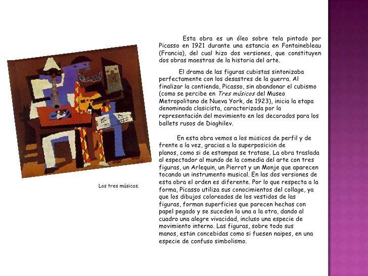Resultat d'imatges de La persistencia de los tres musicos de Picasso 1921