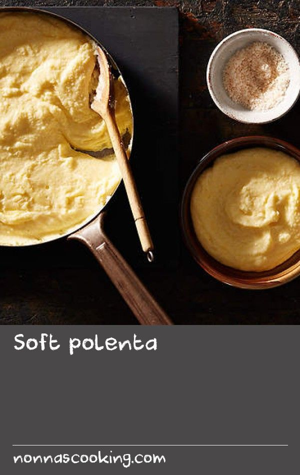 Soft polenta | Polenta has long been an Italian staple, originating as a peasant food from northern Italy where it was originally cooked over open flames in a special vessel, a paiolo, that was made from copper, allowing the heat to be distributed evenly and with a curved bottom to stop it catching over its long cooking time. Traditionally, the polenta was served spread over a large board plonked on a table and eaten communally with spoons. I love this idea, as soft polenta is one of my…