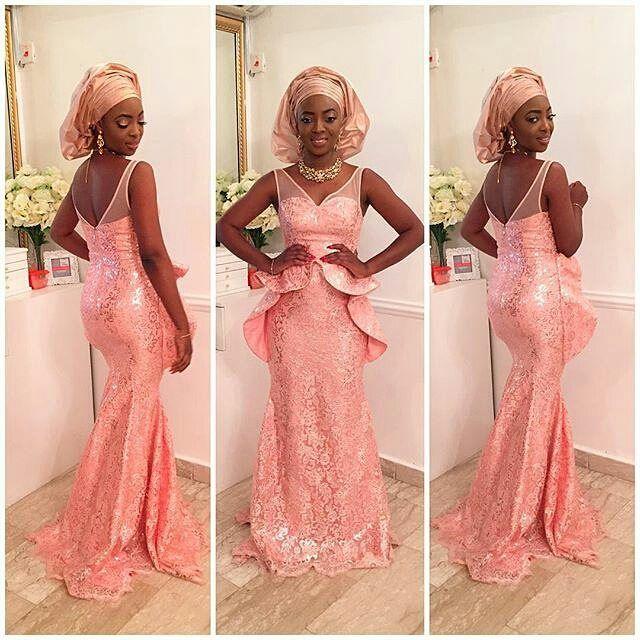 Top 10 Beautiful Aso Ebi 2016 Traditional Style To Rock Dabonke African Aso Ebi Lace Styles