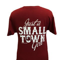 New South Carolina Gamecocks Small Town Girl Girlie Bright T Shirt | SimplyCuteTees