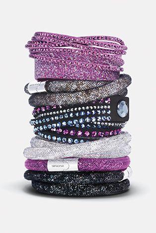 swarovski,jewelry,bracelets,stardust,slake