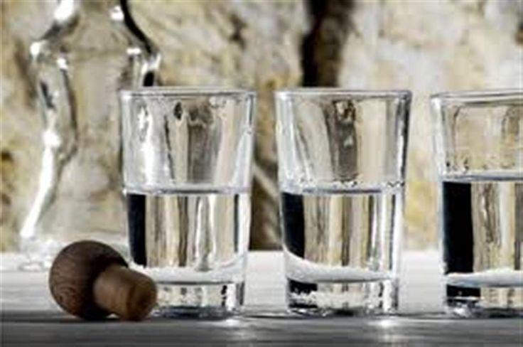 A cup of #raki! #Crete #Tradition