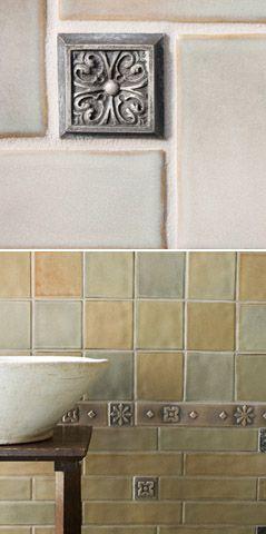 craftsman deco tile (for kitchen)