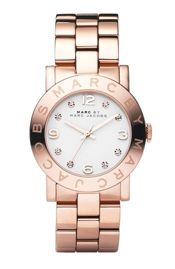 MARC BY MARC JACOBS 'Amy' Crystal Bracelet Watch available at Nordstrom