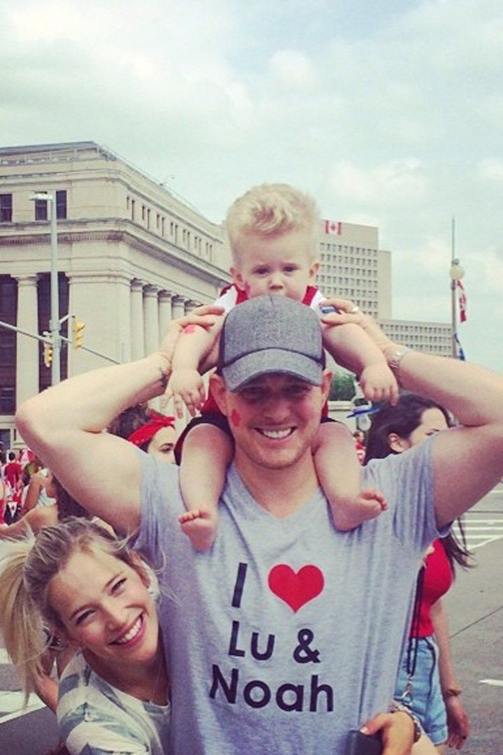 Luisana Lopilato and Michael Bublé's Family Is So Cute, It Almost Hurts