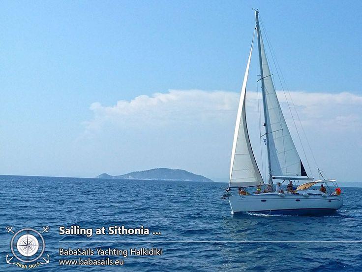 Halkidiki Sailing Cruises !!  BabaSails Yachts  #sail #sailing #halkidiki #Greece #babasails  http://babasails.eu