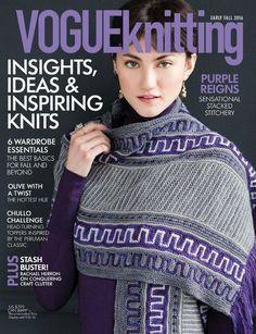 Vogue Knitting Early Fall 2016 - 轻描淡写 - 轻描淡写 nr 61 ist cool