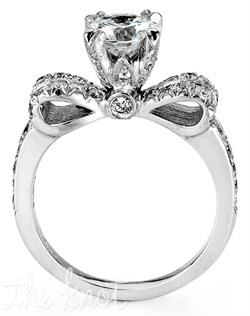 Scotlyn! You could totally just change the hight and shape of the center stone :) Theres a bow for ya :)