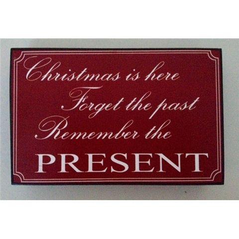 Christmas Present Shelf Plaque