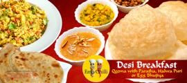 Start Your Day with Delicious #Breakfast for 6 AED! Choose Your Breakfast from Qeema with Paratha, Halwa Puri or Egg Bhujiya with Paratha at Emly Chilli Restaurant. Valid in 3 Locations.  To check/buy the #deal, click on the below link http://www.kobonaty.com/emly-chilli-restaurant-breakfast-qeema-paratha-halwa-puri-egg-bhujiya-paratha