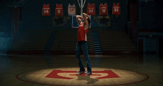 Troy Bolton has a lot of emotions