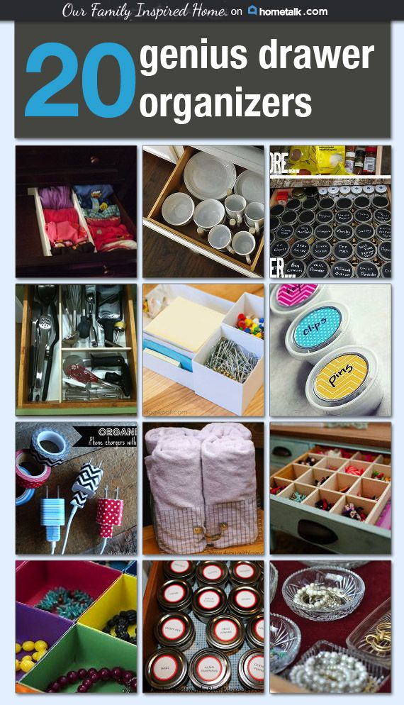 401 Best Diy Drawer Dividers Organizers Images On