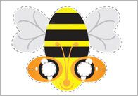 FREE---Insect Role-Play Masks---A collection of insect themed role-play masks ideal for use in role-play scenarios and socio-dramatic play in early years settings. The pdf includes the following insects: spider, bee, ladybird and butterfly.