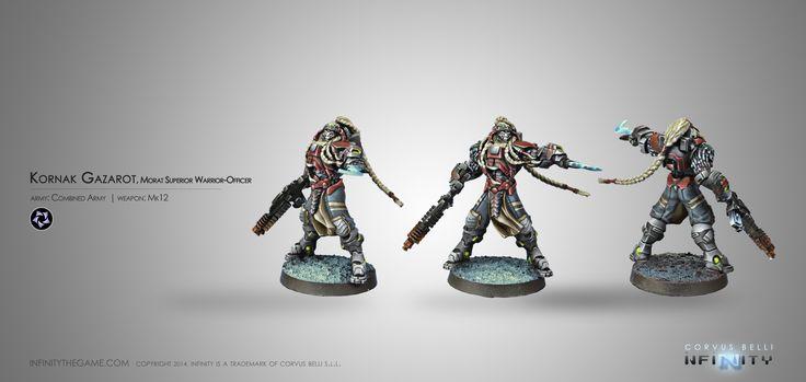 Kornak Gazarot, Morat Superior Warrior-Officer (MK12)