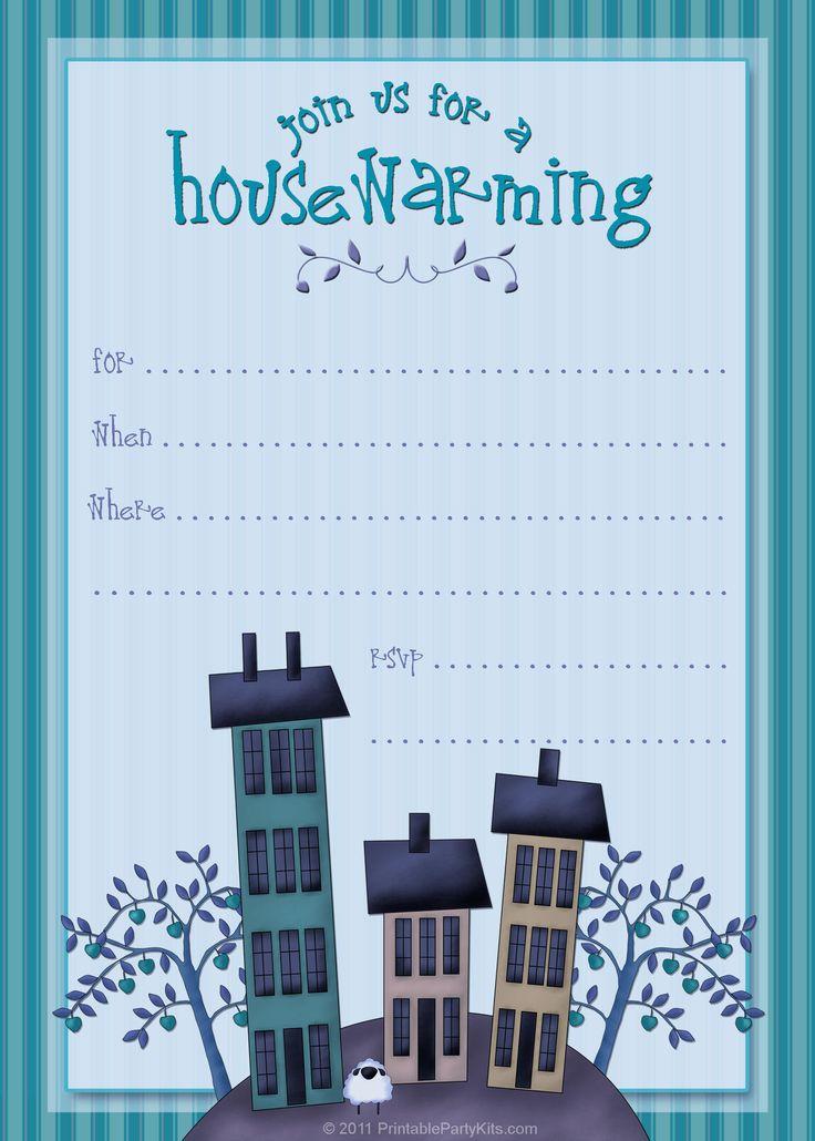 16 best housewarming images on pinterest | housewarming party, Invitation templates