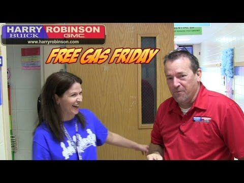 #FreeGasFriday Winner! Ms. Humphreys at Beard Elementary in Fort Smith, Arkansas - YouTube