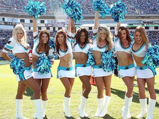 I got: Panthers! Which NFL Team Should You Cheerlead For? Yes!