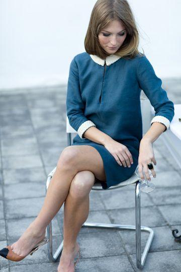 Braid Trim Mod by Emerson FryMod Style, Emerson Fry, Braids Trim, Emerson Fries, Style Hair, Shift Dresses, Trim Mod, 60S Style, Mod Dresses