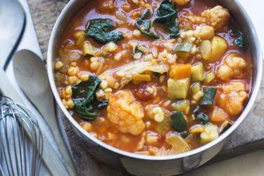 Minestrone with parsley pesto – Recipes – Bite
