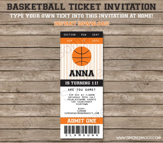 Best 25+ Basketball tickets ideas on Pinterest Basketball - ball ticket template