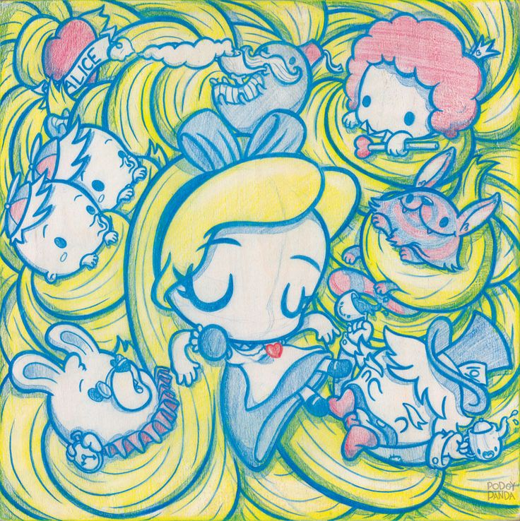 Alice Entangled. http://www.podgypanda.com/