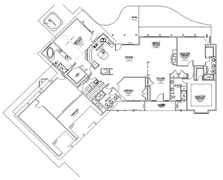 Luxury Log Home Floor Plans Home Open Floor Plans