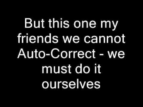 Can We Auto Correct Humanity subtitulado - YouTube