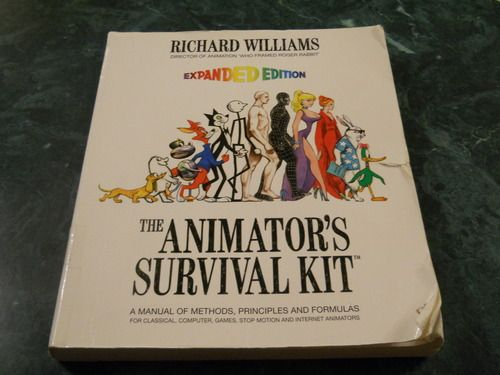 The Animator's Survival Kit: A Manual of Methods, Principles and Formulas for Classical, Computer, Games, Stop Motion and Internet Animators...  ★ || iAnimate || ★  Find more at https://www.facebook.com/iAnimate.net http://www.pinterest.com/ianimateschool/ #ianimate  iAnimate.net is quite simply the best animation program in the world. #animation #books