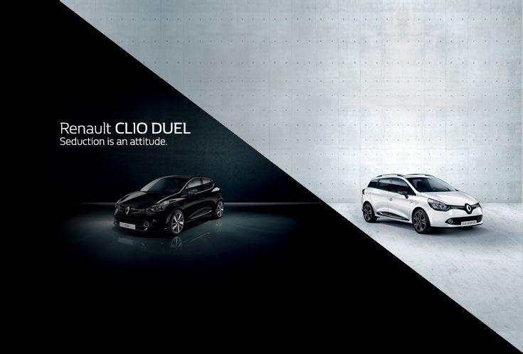 Seduction is an attitude: scoprite le due versioni Berlina e Sporter di Renault #ClioDUEL