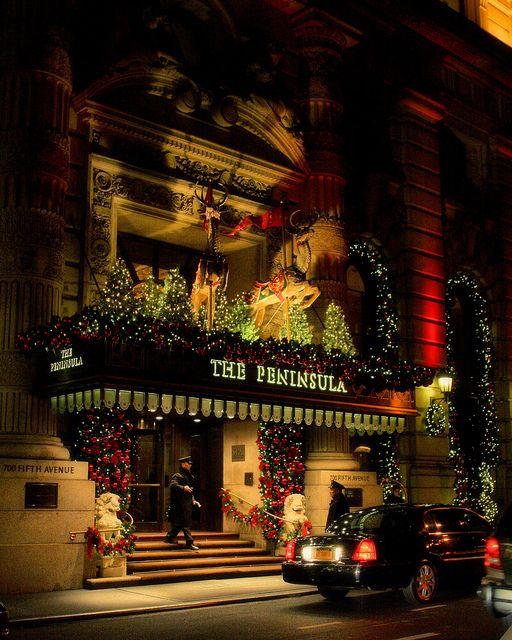 Christmas on Fifth Avenue, NYC