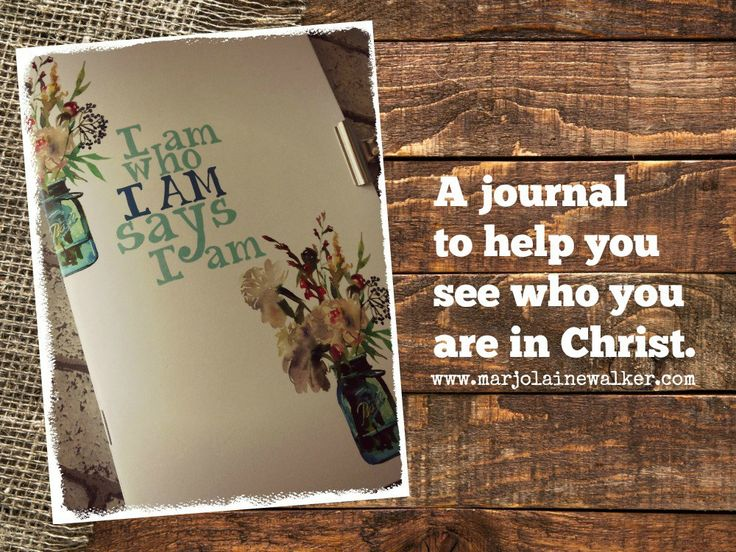 Identity in Christ Journal from Twelve Stones Scrapbooking. Available as a #printable or as a printed copy.
