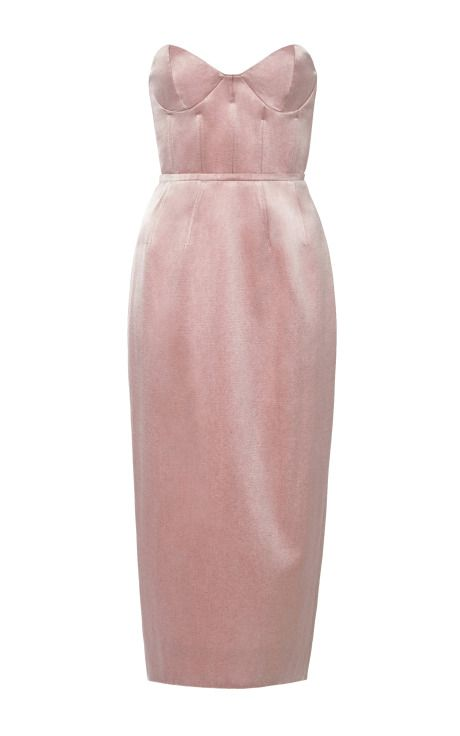 Boned Bodice Party Dress by Katie Ermilio - Moda Operandi