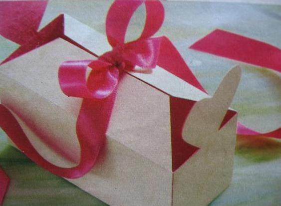 Bonbon doosje zelf maken - Hobby