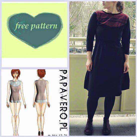 summer dress refashion #freepattern #sewing #dress