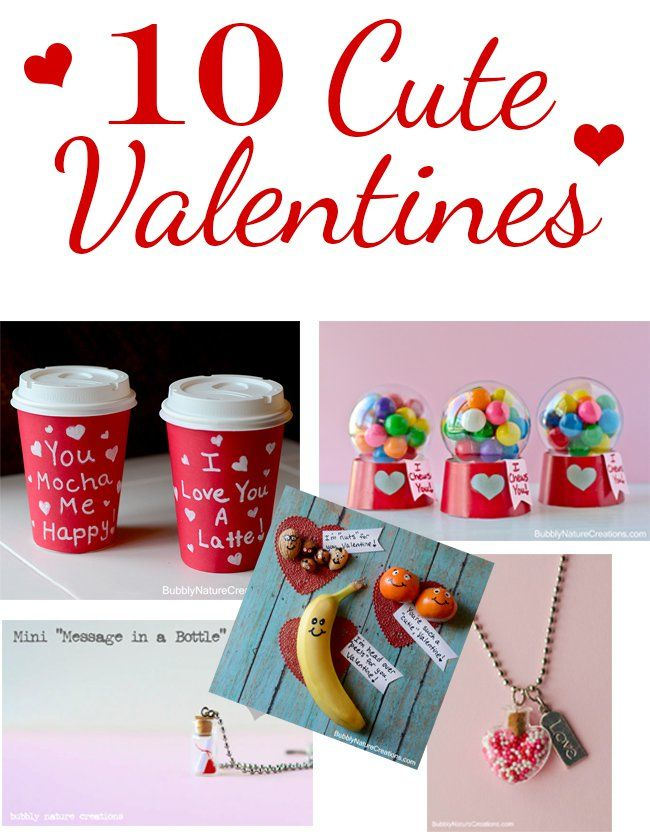 10 Cute Valentines Day Creations