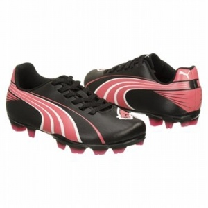SALE - Puma EC1316563 Soccer Cleats Kids Black Synthetic - Was $35.00 - SAVE $2.00. BUY Now - ONLY $33.25