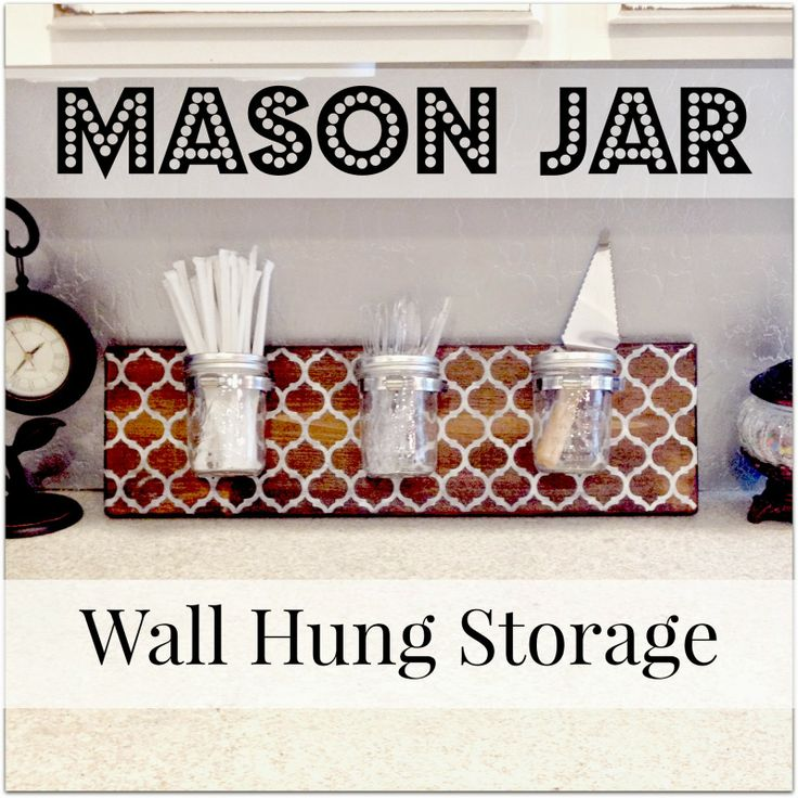 17 best images about jar crafts on pinterest jars for Mason jar craft storage