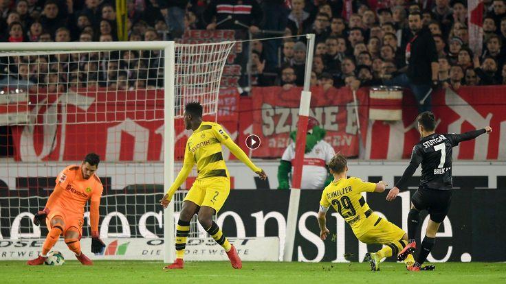 Watch VfB Stuttgart 2 - 1 Borussia Dortmund Highlights Video and Goals HD 17 November 2017, Bundesliga - Football Video Highlights. You are watching a...
