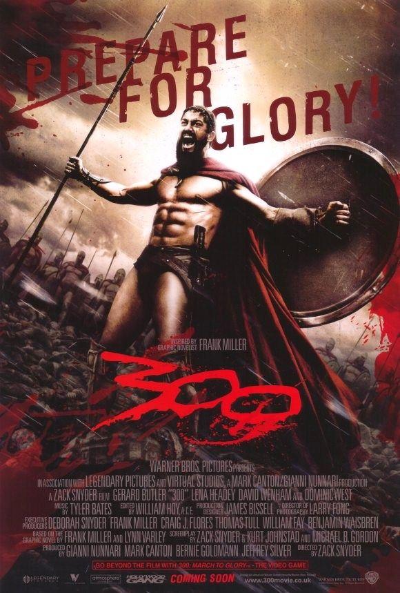 """Film américain sorti en 2007 inspiré de la """"Bataille des Thermopyles"""" ayant eu lieu en -480 av J-C."""