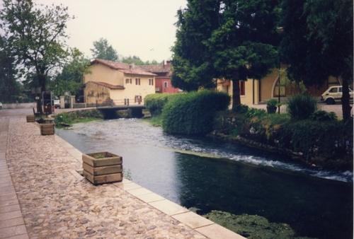 Sacile:il Livenza in Italy