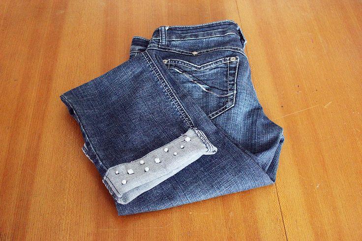 Retro Street Station: DIY: Peppe deine Jeans auf