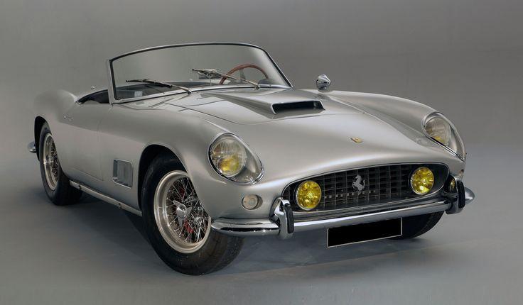1959 Ferrari 250 GT California Spider LWB . Sold for 4,5 million € in Paris (02/03/2012).