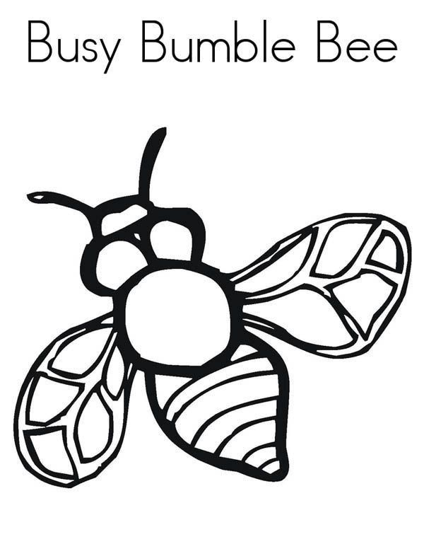 Cute Bumble Bee Coloring Pages Bumblebee Realistic Image Of Busy Bumblebee Coloring Page In 2020 Bee Coloring Pages Bug Coloring Pages Cute Coloring Pages