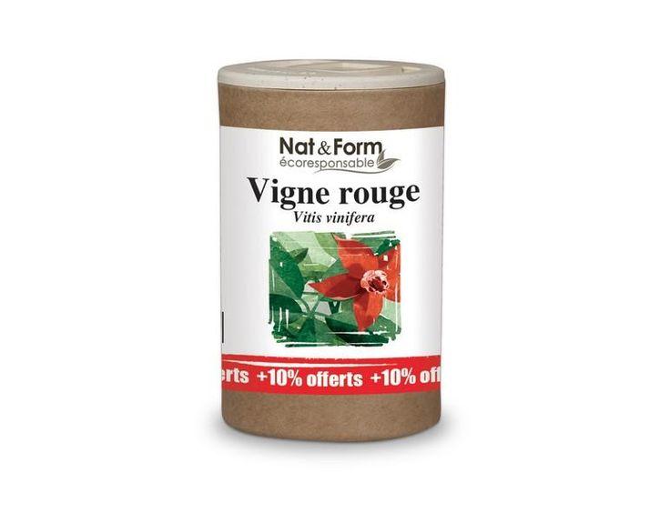 La  Vigne rouge  est  la plante des problèmes circulatoires (varices, hémorroïdes, jambes lourdes)