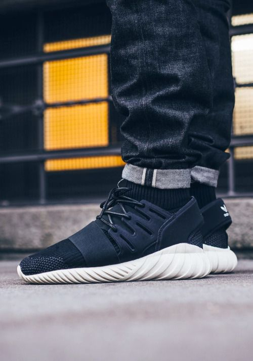 Adidas Tubular Doom Pink On Foot