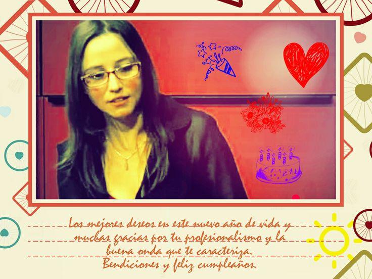 Saludo de cumpleaños para Patricia Venegas :)