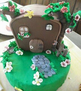 Dettaglio torta compleanno