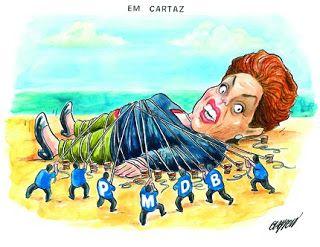 """Ao discutir o impeachment, Dilma conseguiu agigantar a crise. """"A presidente Dilma Rousseff foi à Rússia, mas deixou um rastilho de pólvora no Brasil. Ao chamar para si a discussão sobre se continuará ou não poder, agigantou a crise política que está matando a economia."""""""