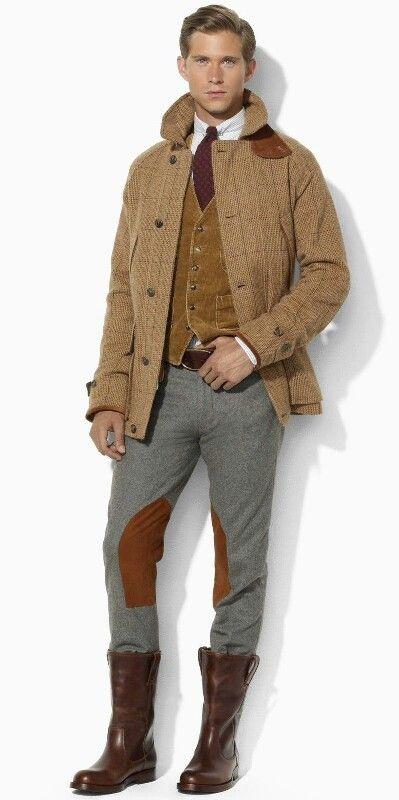 Ralph Lauren Tweed Hunting Coat and Jodhpur's.....