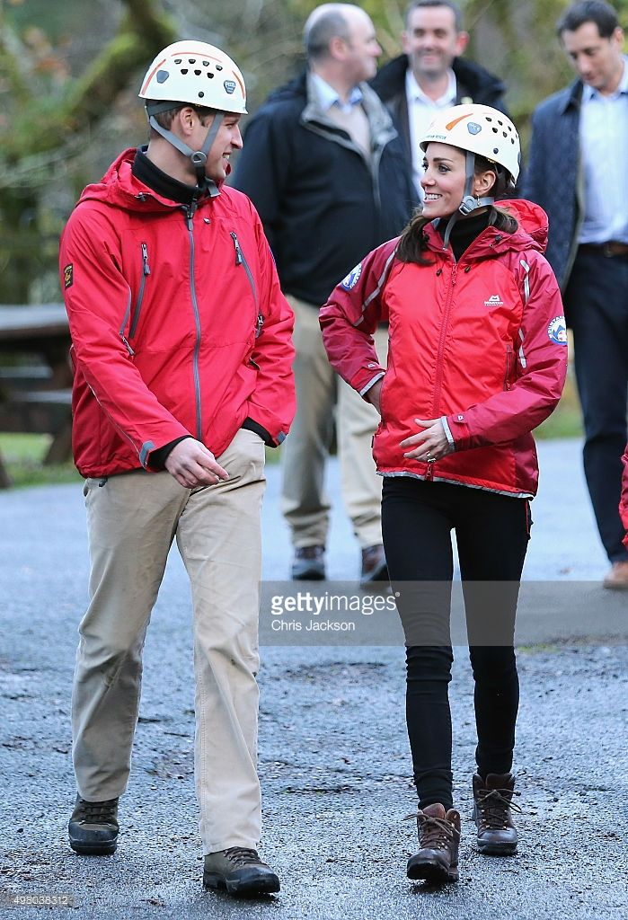 Prince William, Duke of Cambridge and Catherine, Duchess of Cambridge  visit the Towers Residential Outdoor Education Centre on November 20, 2015 in Capel Curig, United Kingdom. The Towers is an outdoor education centre run by Wolverhampton Council providing adventure activities for children. (Photo by Chris Jackson-WPA Pool/Getty Images)